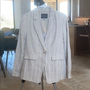 Sanctuary Eastport blazer Hampton stripe